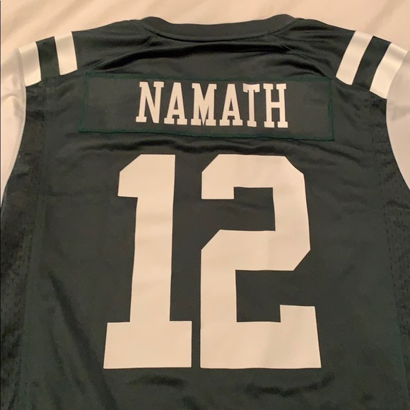 official photos 29886 1d8a6 NJ Jets Joe Namath #12 NWT